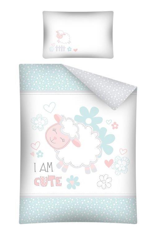 Комплект постельного белья Хлопковый Детский NR 2856A M&M 6339 Белый, Зеленый