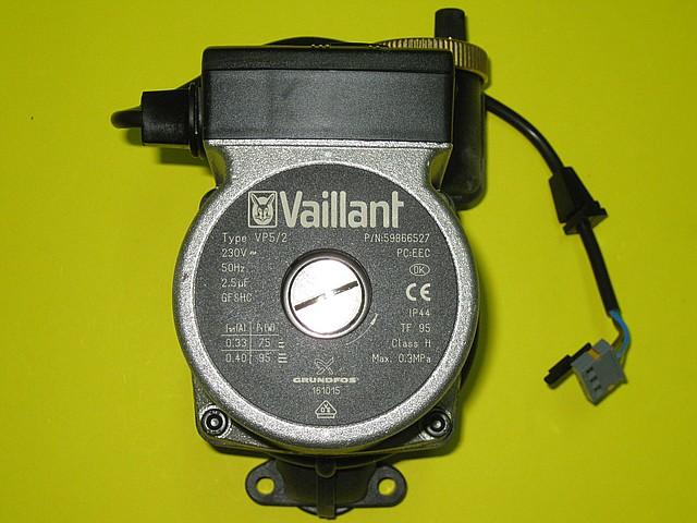 Насос Grundfos 160928 Vaillant ATMOmax, TURBOmax Pro / Plus
