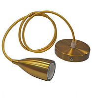 Светильник подвесной EDISON Е27 золото