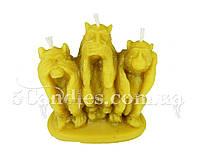 """Форма для свечей """"3 обезьяны"""""""