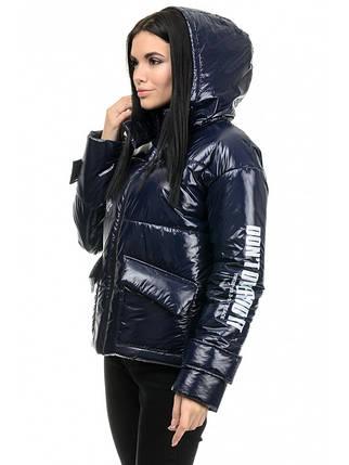 Куртка женская демисезонная (синий), фото 2