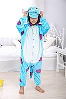 Детский карнавальный костюм монстрик Салли кигуруми