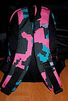 Рюкзак детский,городской объем 10 литров (розовый принт)
