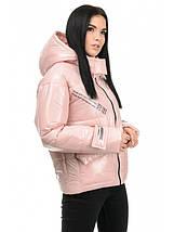 Куртка женская демисезонная (розовый), фото 3