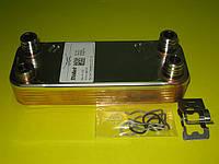 Теплообменник вторичный (12 пластин) 065131 Vaillant ATMOmax, TURBOmax Pro / Plus