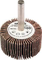 Круг шлифовальный лепестковый для дрели YATO YT-83354 40 х 20 х 6 мм К100