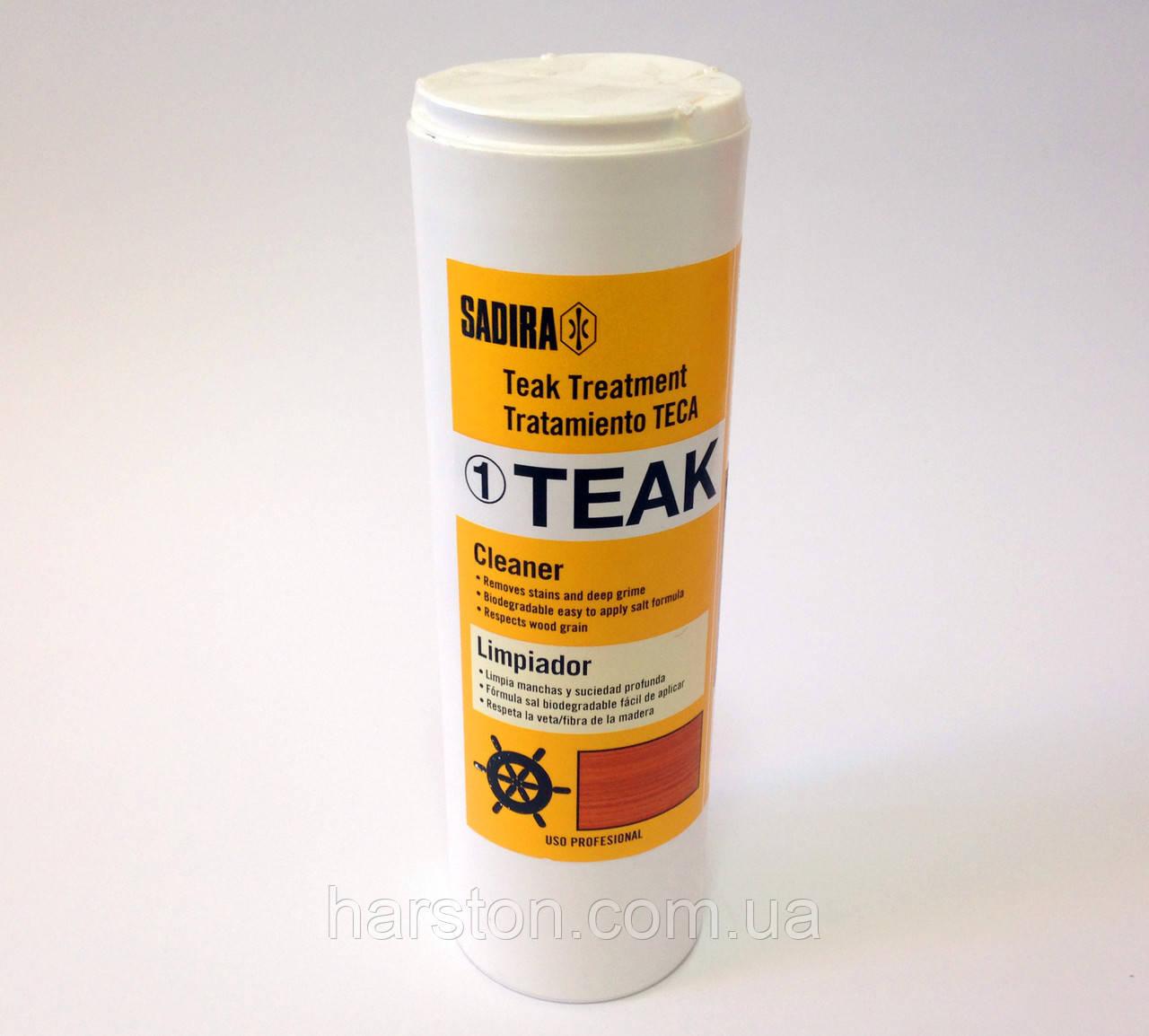 Средство для чистки тика Sadira Teak Treatment 1. Очиститель, 500 мл.