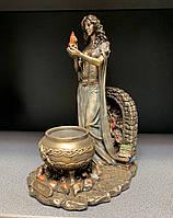 Статуэтка Veronese Бригита - Кельтская богиня домашнего очага WS-856