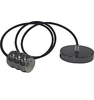 Светильник подвесной GAUSS Е27 перламутровый черный