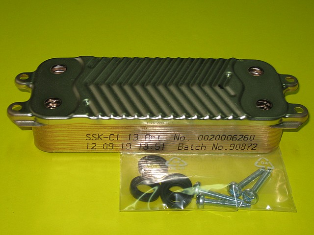 Теплообменник вторичный 0020020018 Vaillant atmoTEC Pro / turboTEC Pro