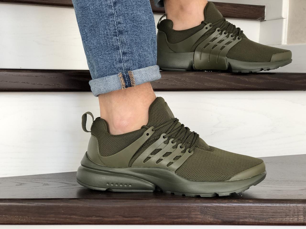 Кроссовки мужские Presto темно зеленые