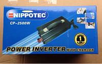 Преобразователь инвертор ac dc cp Nippotec cp- 2500w 12v 220v с зарядкой