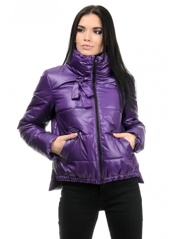 Куртка женская демисезонная (фиолет)