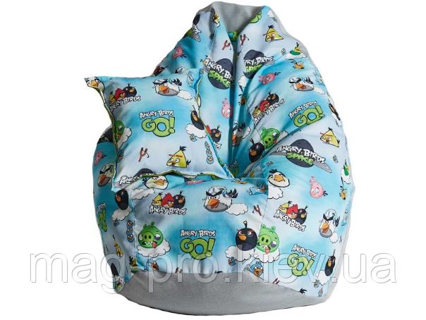 Angry Birds детское кресло-груша