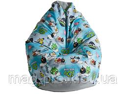 Angry Birds детское кресло-груша, фото 3