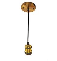 Светильник подвесной TESLA Е27 золото