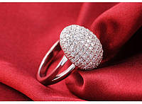 Серебряное кольцо Бэллы Сумерки кристаллы