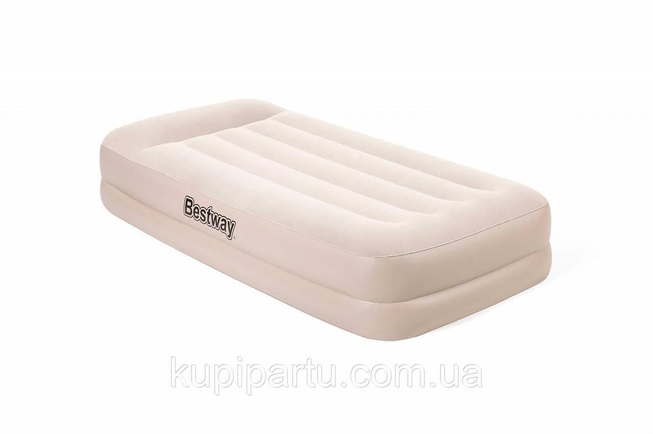 67694 Надувная кровать Tritech Airbed 191х97х42см с подголовником, встроенный электронасос