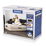 67694 Надувная кровать Tritech Airbed 191х97х42см с подголовником, встроенный электронасос, фото 5