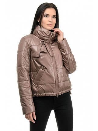 Куртка женская демисезонная (орех), фото 2