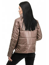 Куртка женская демисезонная (орех), фото 3