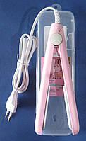 Мини-утюжок для волос GV-118 (розовый)