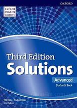 Solutions Third Edition Advanced Student's Book / Учебник