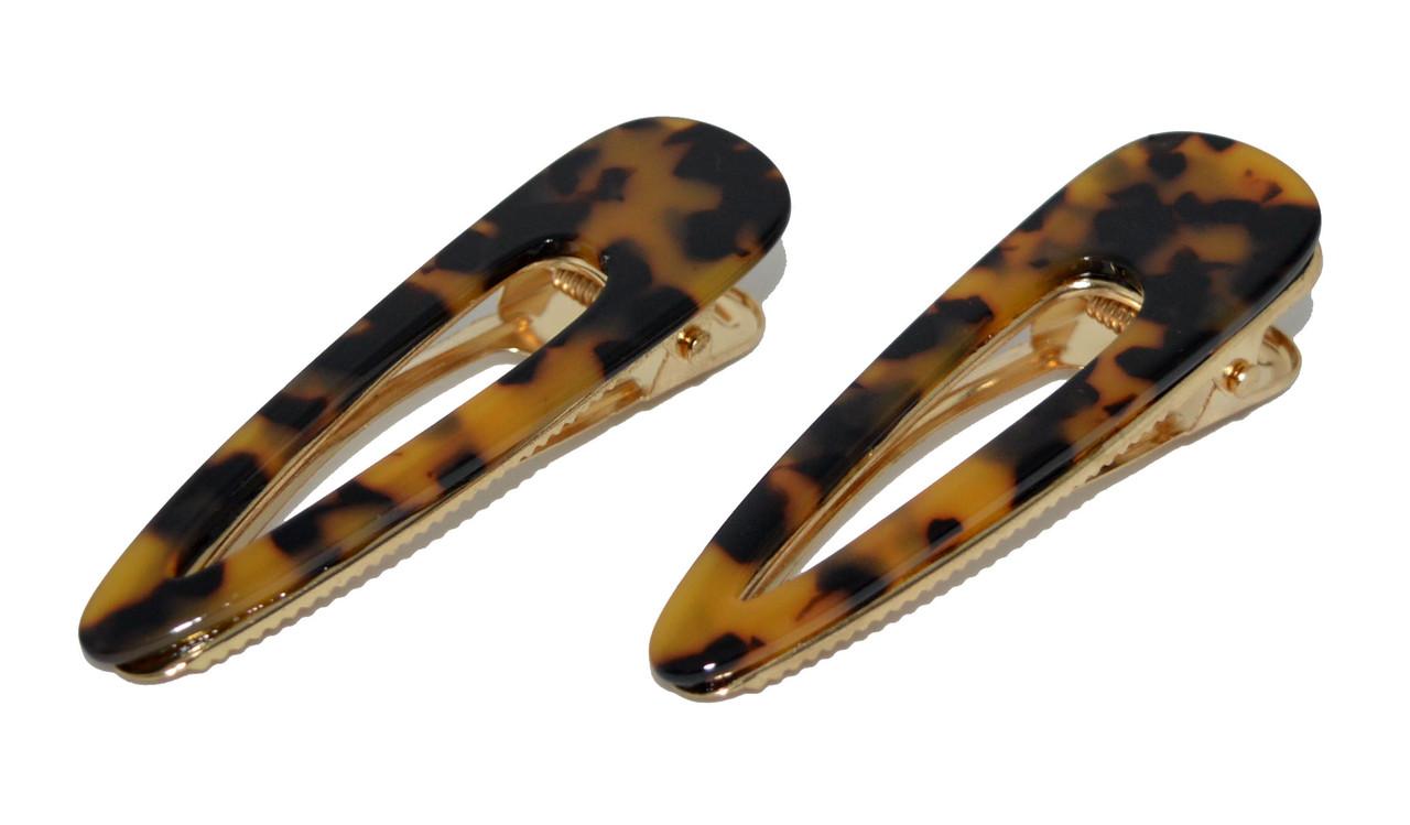 Шпильки затискачі для волосся - леопард (6 шт)