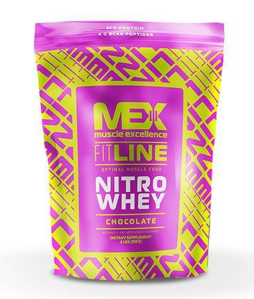 Протеин Nitro Whey MEX Nutrition 910 грамм