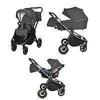 Детская универсальная коляска CARRELLO Epica CRL-8511/1 (3в1) Темно-серый (CRL-8511/1 (3в1) Iron Grey)