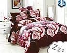 Комплект постельного белья Микроволокно HXDD-175 M&M 0050 Коричневый, фото 2