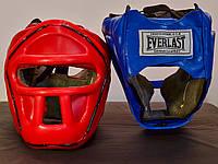 Шлем тренировочный с пластиковой маской Everlast