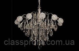 Классическая хрустальная люстра с LED лампочками  8201-12
