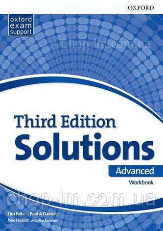 Solutions Third Edition Advanced Workbook / Рабочая тетрадь, фото 2