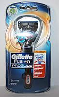 Станок GILLETTE FUSION PROGLIDE MANUAL RAZOR FLEXBALL TECHNOLOGY + 2 сменных картридж