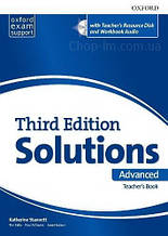 Solutions Third Edition Advanced Teacher's Book with Teacher's Resource Disc / Книга для учителя
