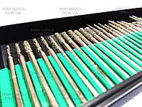 Алмазные боры 30шт. (крупная фракция) YDS Tools