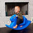 Качалка Веселая лошадка  Little Tikes (синяя) 167200072 Бесплатная доставка!, фото 4