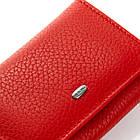 Женский кошелек кожаный Dr.Bond (8,5x10,5x2,5 см) красный, фото 2