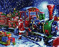 Алмазная мозаика Новогодний экспресс SKL40-229171