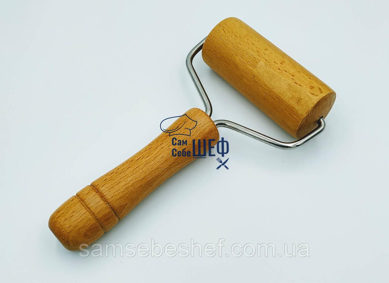 Валик скалка для раскатки теста деревянный GA Dynasty 26019
