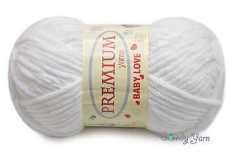 Premium Yarn Baby Love, Белый №301