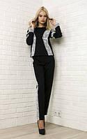 Женский костюм из турецкой двухнитки , фото 1
