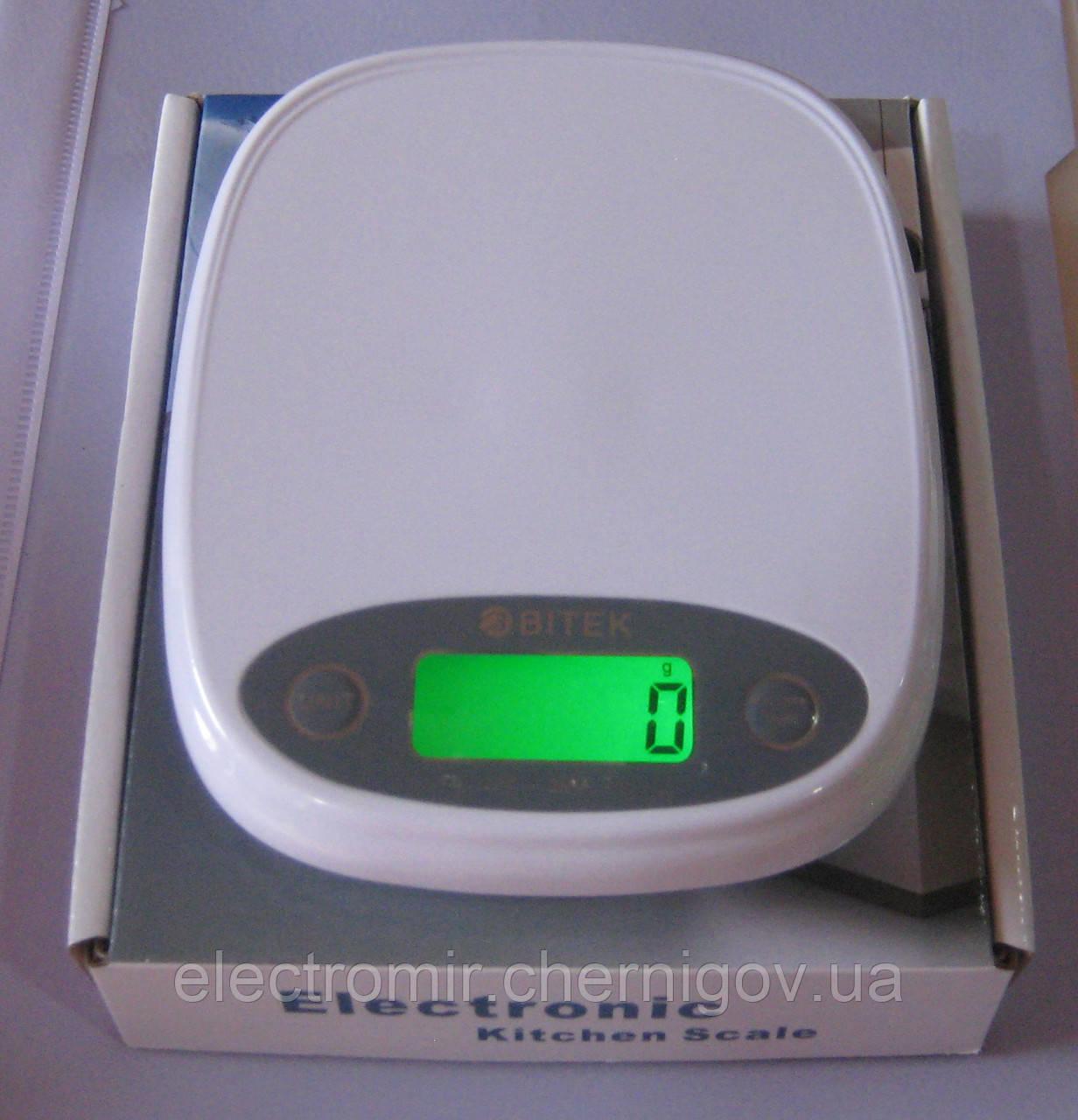 Весы кухонные Elektronic YZ-4182 (до 5 кг)