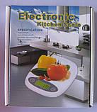 Весы кухонные Elektronic YZ-4182 (до 5 кг), фото 3