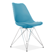 Стілець Тауер З (з м'яким сидінням) (асортимент кольорів) Блакитний