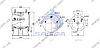 Пневморессора со стаканом в сборе (сталь) Mercedes 2813N \9463281901 \ SP 552813-K, фото 2