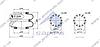 Пневмоподушка подвески BPW 2B-285, 608N (310*200) \0542900010 \ SP 55285-2F01, фото 2