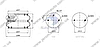 Пневмоподушка подвески SAF 2B22R, W01M587524 \3229100100 \ SP 55301-2P09, фото 2