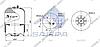 Пневморессора со стаканом в сборе (сталь) (d328x260 mm) 4187NP24 \9423207321 \ SP 554187-K02, фото 2
